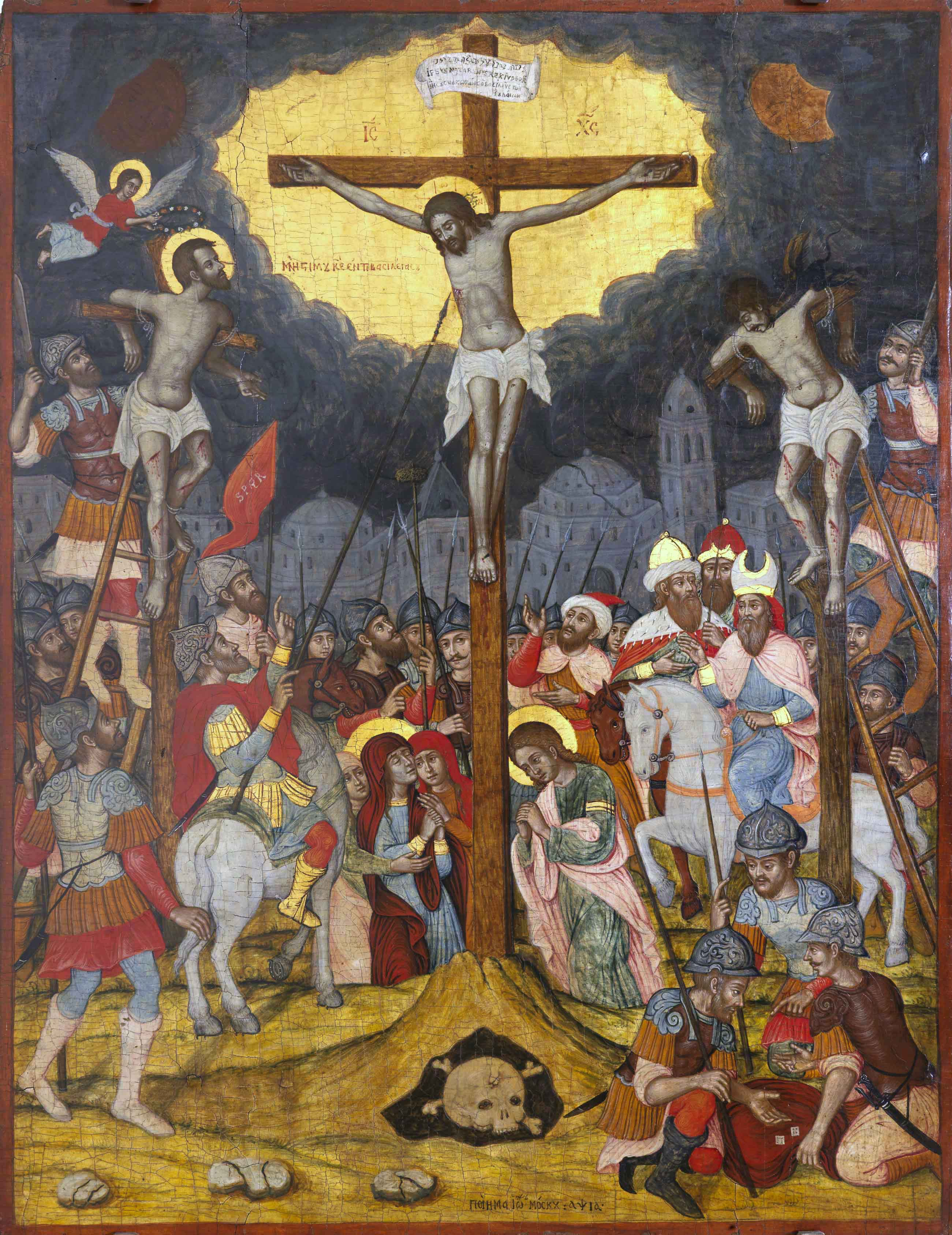Crucifixion by IMoskos 1711