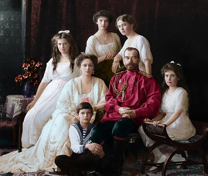 1913 Οικογένεια Ρομάνοφ